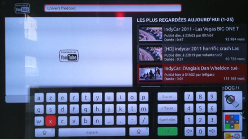 Freebox Révolution et Youtube : Mise à jour du Freebox Player 1.1.1
