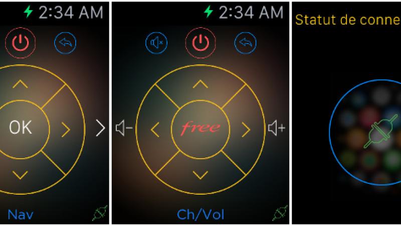 Utilisez simplement votre Apple Watch pour commander votre Freebox
