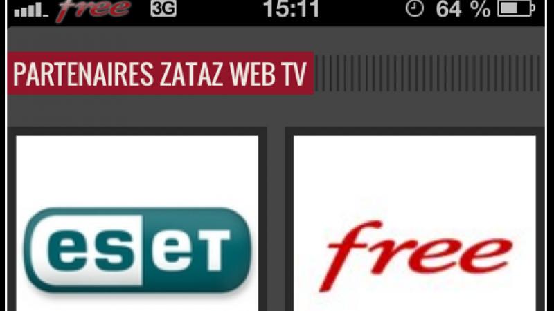 Free, nouveau sponsor de Zataz web TV