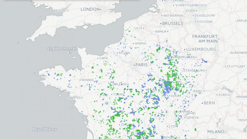 Découvrez la carte officielle et l'évolution des déploiements de l'internet mobile dans les zones blanches