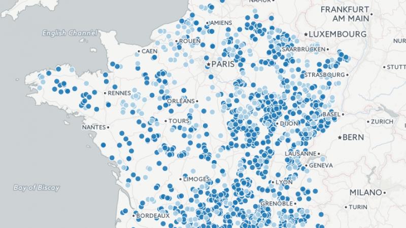 De nombreuses communes ne disposent même pas de la 2G : découvrez la carte interactive des zones blanches