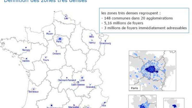 FTTH/Zones denses: Les opérateurs ont 1 mois pour publier leurs offres de mutualisation