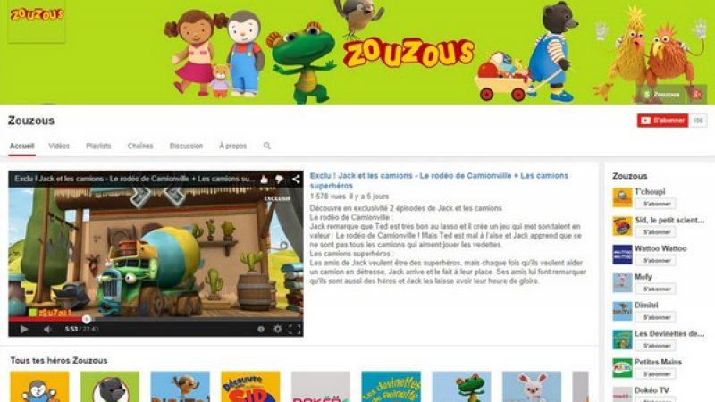 France Télévisions investit Youtube avec des programmes jeunesse