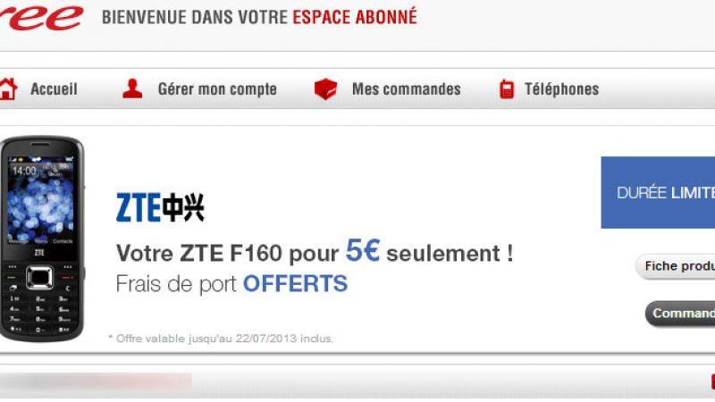 Free Mobile : les conditions pour bénéficier du ZTE à 5 euros