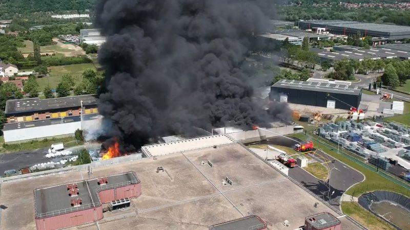 Iliad : le data center DC5 de Scaleway échappe de peu à un incendie impressionnant