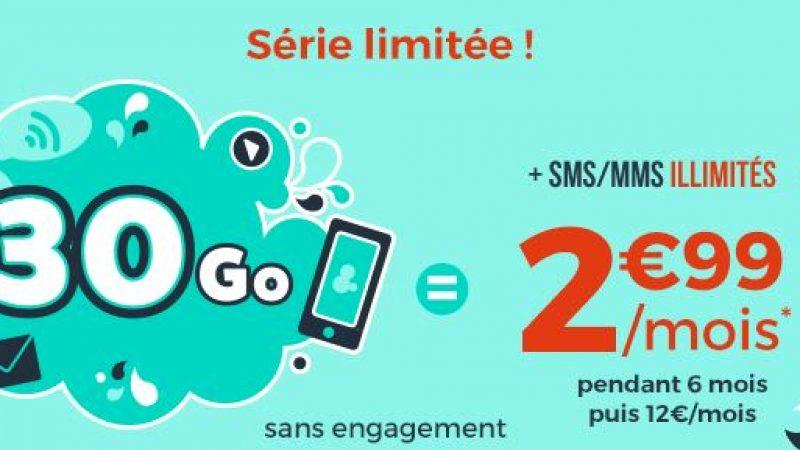 """Cdiscount Mobile enchaîne les offres """"Immanquables"""" avec une série limitée à 2.99€/mois"""
