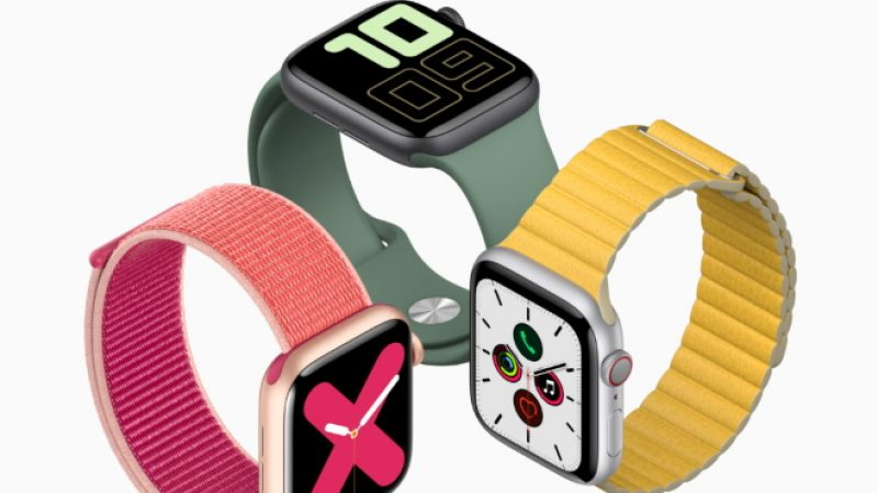 Apple Watch Series 5 : la nouvelle génération de montre connectée made in Apple