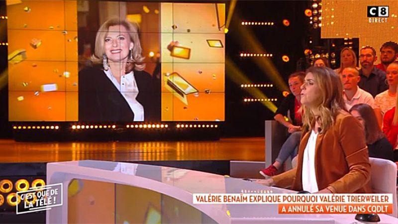 Valérie Trierweiler boycotte le groupe canal + à cause du retour d'Eric Zemmour sur leurs antennes
