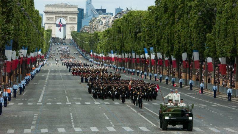 TF1 retransmettra le défilé du 14 juillet au travers d'un dispositif exceptionnel et indédit
