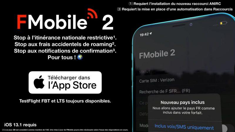 FMobile 2 : l'app vous débarrassant de l'itinérance Orange débarque dans une nouvelle version truffée d'évolutions