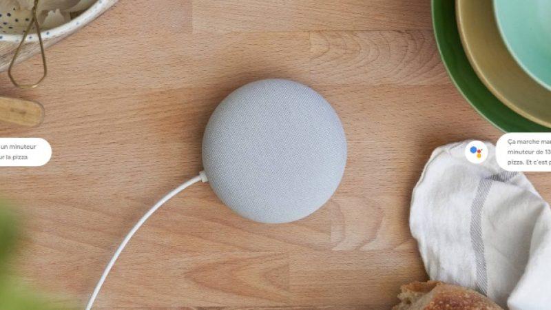 Nest Mini : une nouvelle version ainsi qu'un nouveau nom pour l'enceinte connectée compacte de Google