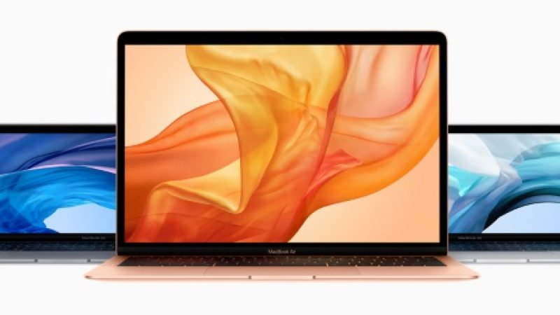 MacBook Air 2018 : Apple remplace sans frais les cartes mères défecteuses de certains modèles