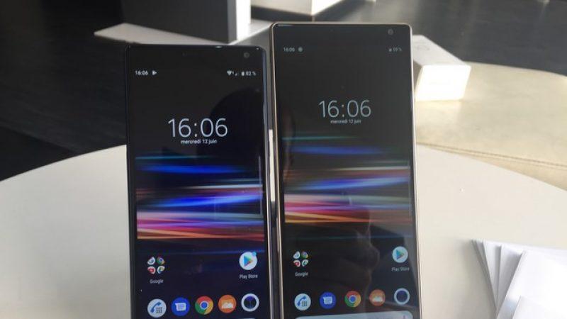 Univers Freebox a testé le smartphone Xperia 10 qui propose un écran 21/9 et une bonne 4G dans un format compact