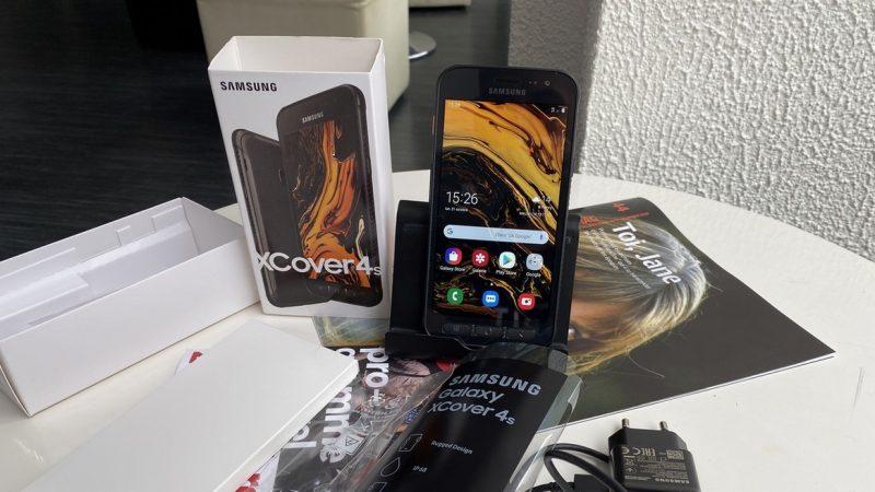 Univers Freebox a testé le Samsung Galaxy Xcover 4S disponible chez Free Mobile, un smartphone compact et renforcé