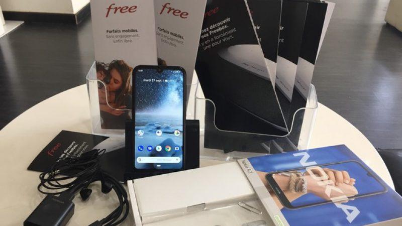Univers Freebox a testé le Nokia 4.2 disponible chez Free Mobile, un smartphone sans grande prétention