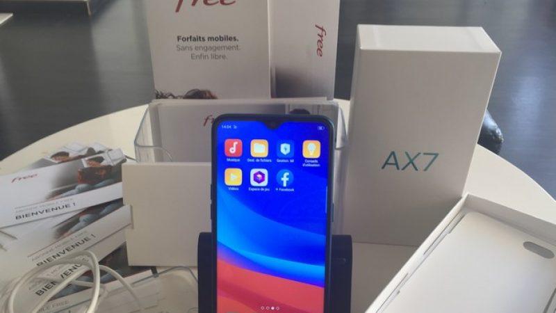 Univers Freebox a testé l'Oppo AX7 disponible chez Free Mobile, un smartphone abordable avec un grand écran et une grosse batterie