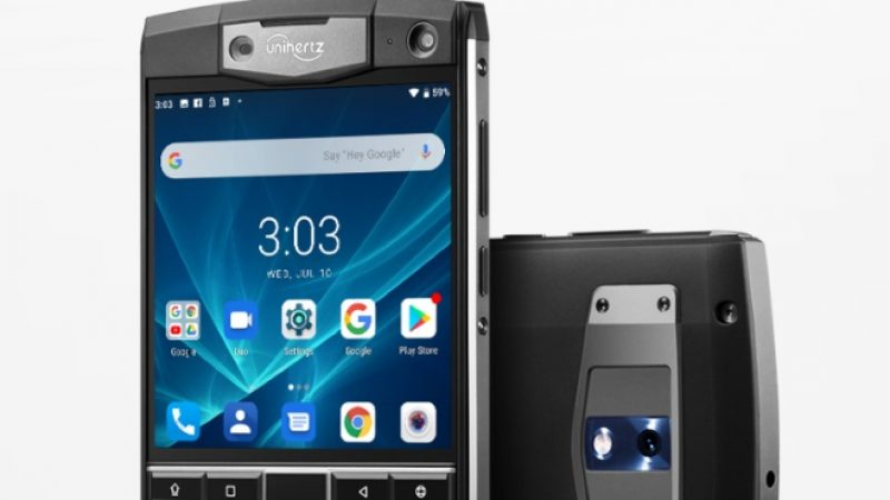 Unihertz Titan : un smartphone doté d'un clavier physique et d'une batterie 6 000 mAh qui raviront les fans de Blackberry