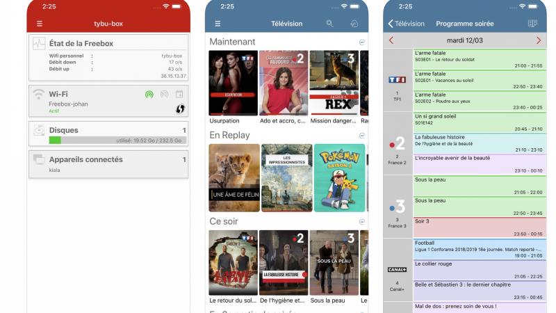 L'application Freebox se met à jour sur iOS (bêta) avec plusieurs améliorations