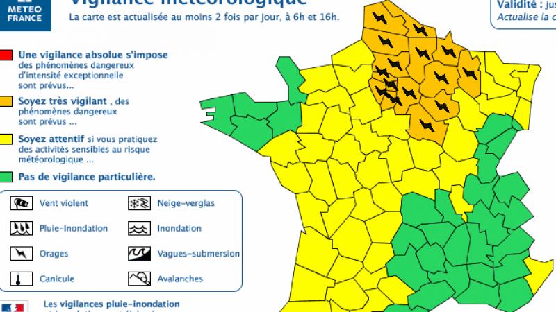 Alerte orages sur plusieurs régions dont l'Ile de France : les conseils pour protéger votre Freebox