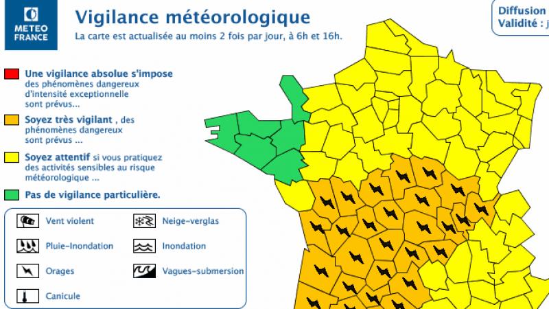 Alerte orages sur une grosse partie de la France : les conseils pour protéger votre Freebox