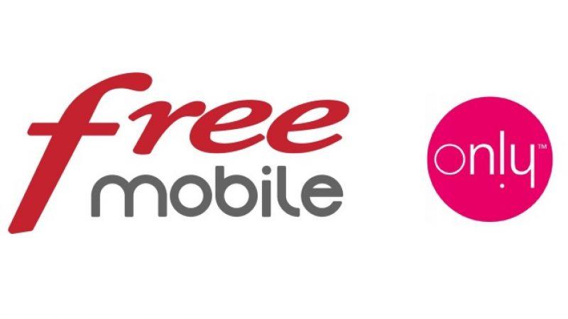 Only, l'autre marque de Free lance de nouvelles offres boostées en data à la Réunion
