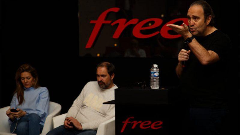 Découvrez la vidéo de la convention Free 2019, avec Xavier Niel  et Thomas Reynaud en particulier