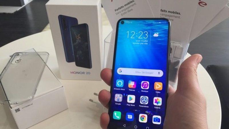 Univers Freebox a testé le Honor 20, un smartphone haut de gamme disponible chez Free Mobile