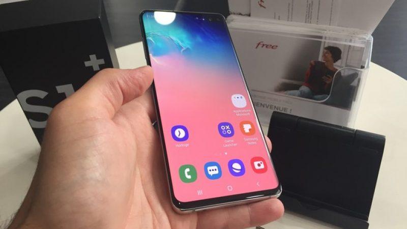 Univers Freebox a testé le Samsung Galaxy S10+ disponible chez Free Mobile, un smartphone beau et à la pointe de la technologie