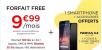 C'est parti pour l'offre Free Mobile sur VeePee : forfait à 9,99€/mois + smartphone et accessoires offerts