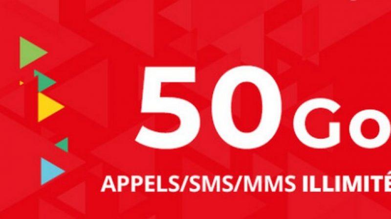 Auchan Telecom : un forfait 50 Go en série limitée à 4,99 euros par mois