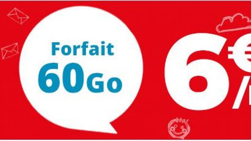 Auchan Telecom propose une nouvelle promo en série limitée pour 6.99€ par mois sans engagement