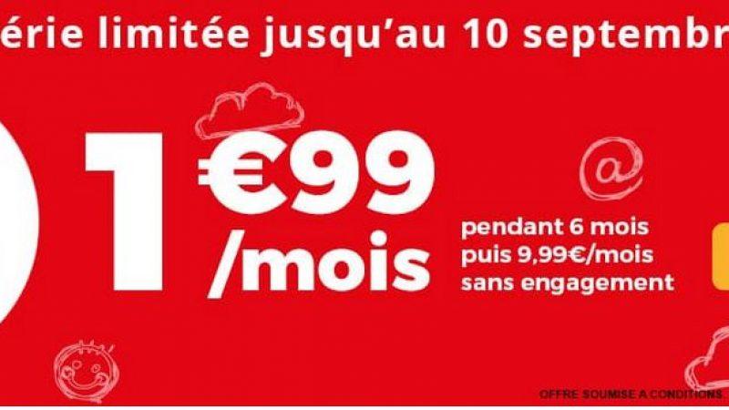 Auchan Telecom propose une nouvelle série limitée: 20Go à moins de 2€ par mois