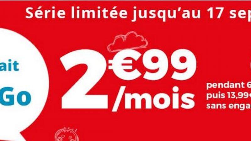 Auchan Telecom propose une nouvelle promo sur son forfait 40Go