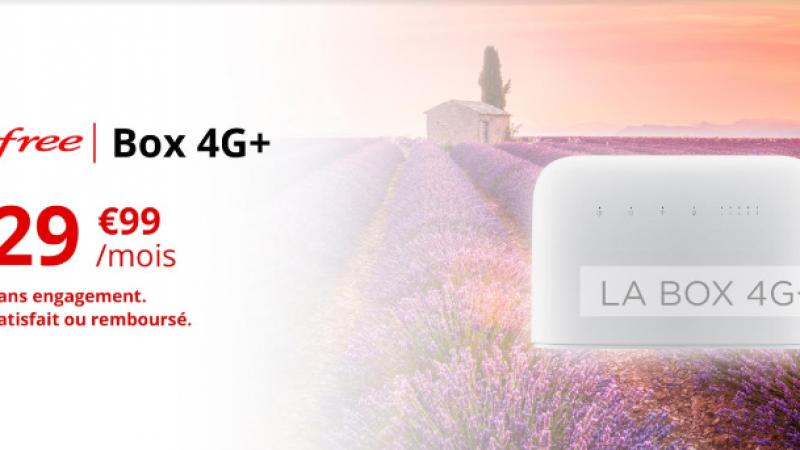 Comparatif Box 4G : la box 4G+ de Free l'emporte sur le débit et sur le prix