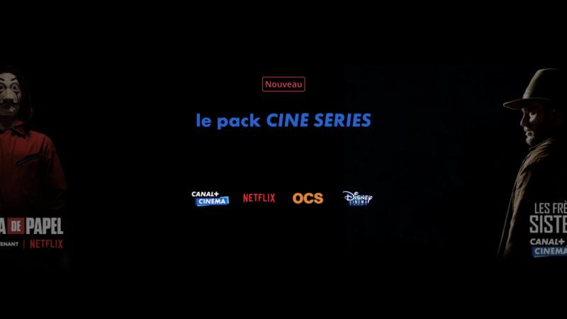 Canal+ lance son pack Ciné Séries intégrant Netflix