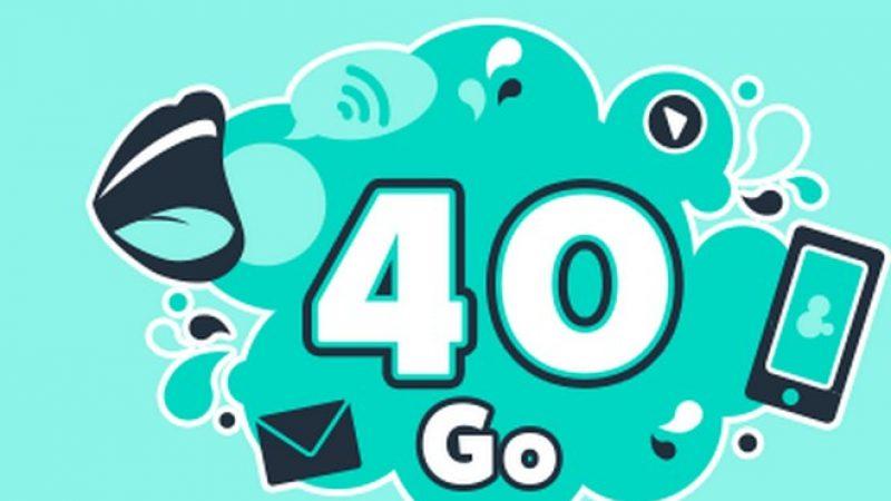 Cdiscount propose un forfait mobile 40 Go à 4,99 euros par mois