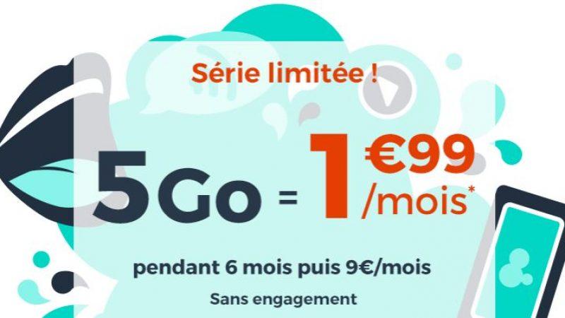 """Cdiscount Mobile casse les prix avec sa promo """"immanquable"""" à 1.99€ par mois"""