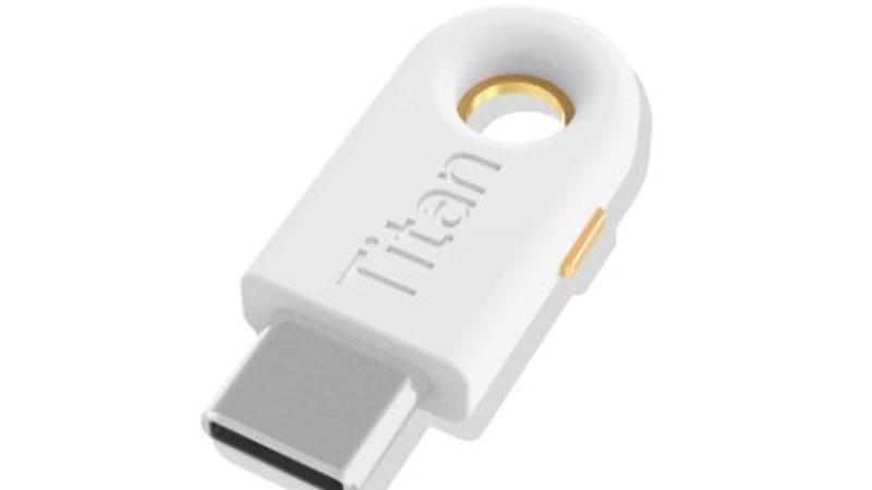 Titan : la clé de sécurité de Google a droit à sa version USB-C