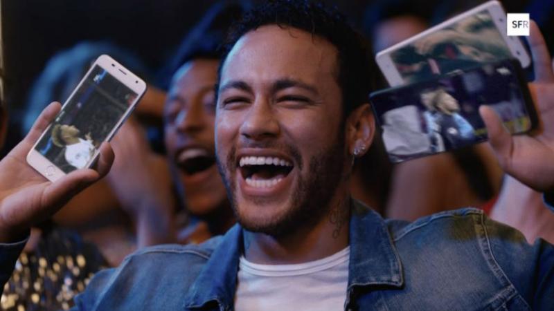 Clin d'oeil : le trio de choc, Neymar, Cristiano Ronaldo et Sébastien Loeb, vibre pour la fibre de SFR
