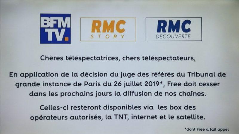 Bras de fer entre BFMTV et Free: selon Alain Weill, le problème n'est pas le coût de diffusion des chaînes