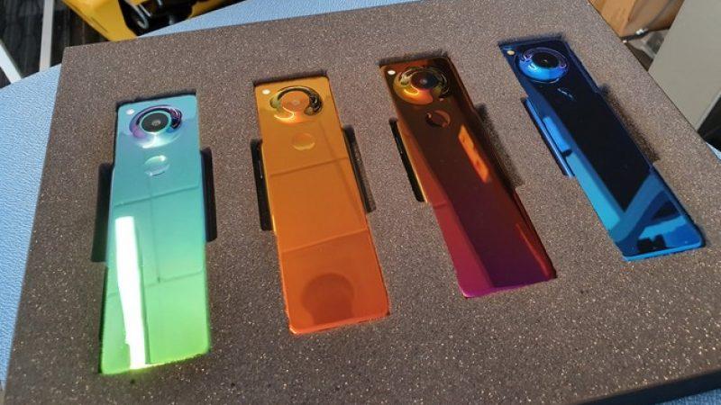Andy Rubin, le papa d'Android, travaille sur un smartphone au design tout en longueur