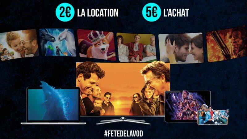 C'est parti pour la quatrième édition de la fête de la VOD: les films à 2€ sur la Freebox