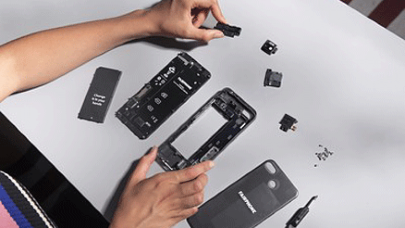 Le Fairphone 3, smartphone se voulant écolo et éthique en France en exclusivité chez Orange