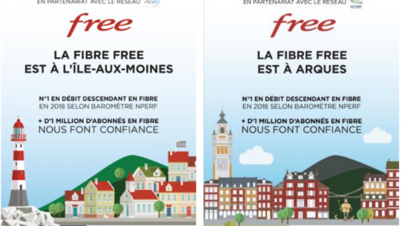 La fibre Free arrive chez vous : Free communique désormais au plus près des abonnés et cela donne de bons résultats