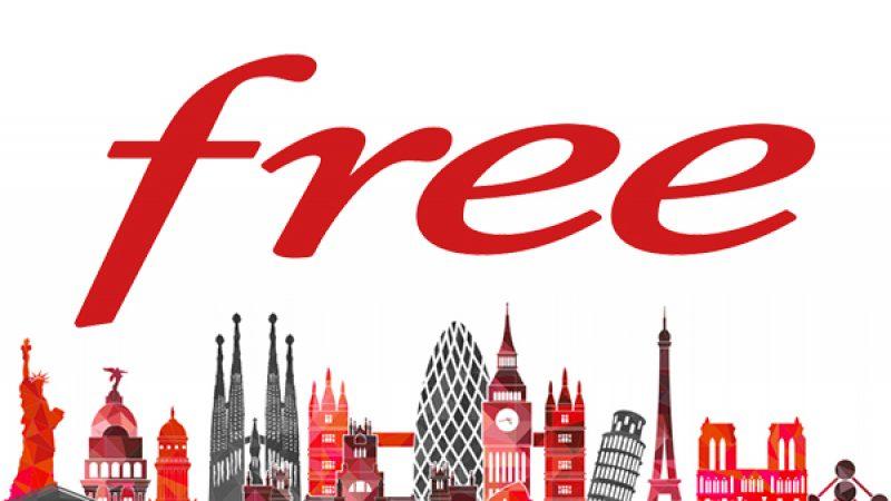 Free Mobile sonde ses abonnés autour d'une prochaine destination incluse en roaming data dans son forfait le plus musclé