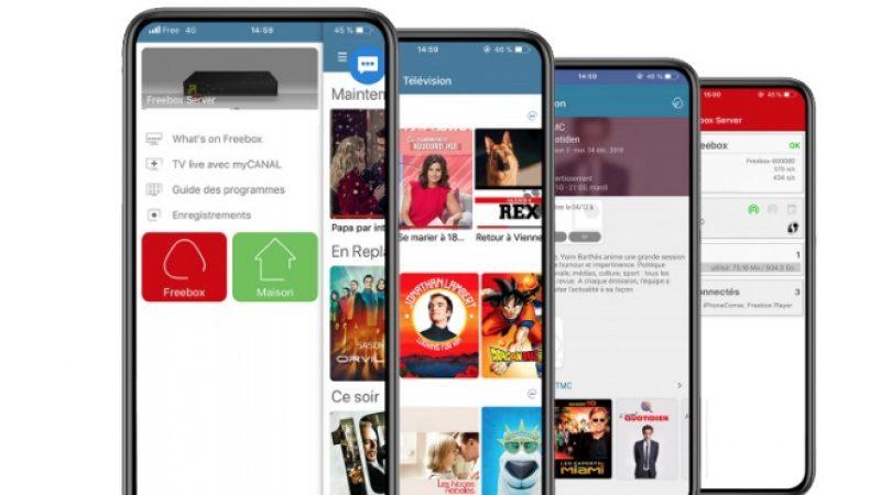 Nouvelle mise à jour de l'application Freebox sur Testflight (iOS) avec des améliorations côté TV
