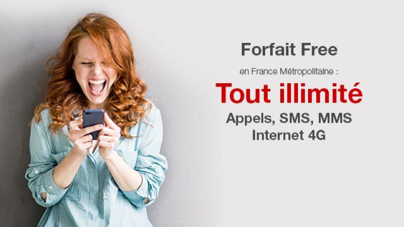 Free Mobile lance un nouveau spot décalé pour promouvoir son forfait avec data illimitée