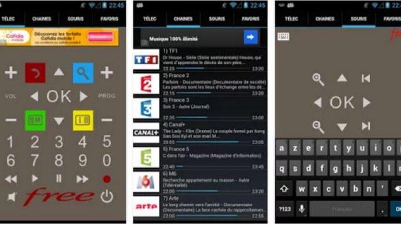 FreeTéléc, la télécommande virtuelle de votre Freebox, se met à jour avec de nouveaux boutons