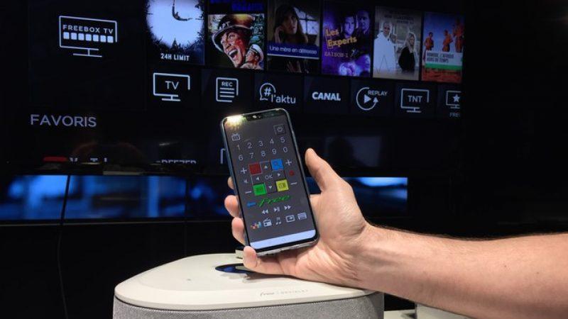 Freebox : l'application de télécommande virtuelle Freeteuse se met une nouvelle fois à jour