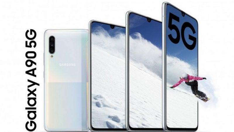 (Màj) Samsung présente un smartphone Galaxy A avec la compatibilité 5G